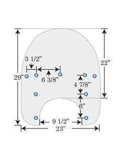 Ersatz Windschutzscheibe klar 99-18 FLHR mit OEM HD Shield