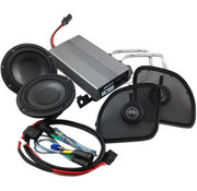 Hogtunes audio Speaker kit 400 watt 2 channel Class D; For 15-18 FLTRX/​FLTRU