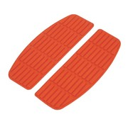 TC-Choppers Controls floorboard pads 66-90 FL - Red