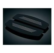 Kuryakyn passager floorboard pads- premium, Convient à:> 84-17 Electra Glide