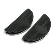 TC-Choppers floorboards, oval old style, 86-13 FLST; 80-13 FLT