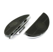 TC-Choppers floorboards, oval old style, 84-13 FXST; 93-99 FXDWG; 80-86FXWG