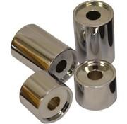 stuurverhogers 1 of 2 inch T-Bar Riser / Spacer chroom