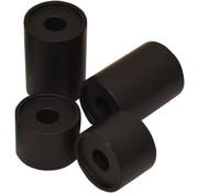 Lenkeraufsätze 1 oder 2 Zoll T-Bar Riser / Spacer Schwarz
