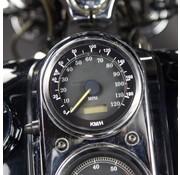 TC-Choppers snelheidsmeter mph naar km converter mijl naar km - Past op:> Dyna 1995-1998
