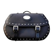 Longride bags Saddlebags Softail 84-06 - studded