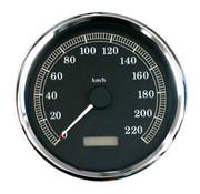 TC-Choppers Speedometer KMH, 00-03 SOFTAIL; 95-03 FLHR