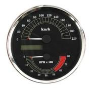 MCS snelheidsmeter KMH 00-03 Softail 95-03 FLHR