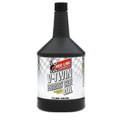 Red Line Synthetic oil Synthetic oil Oil Primary Case full-Synthetic V-Twin engines Fits: > All Bigtwin Evo,Twincam an M8 primairy