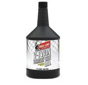 Red Line Synthetic oil Synthetische olie Olie Primaire behuizing Volledig synthetische V-Twin-motoren Past op:> Alle Bigtwin Evo, Twincam en M8 primairy
