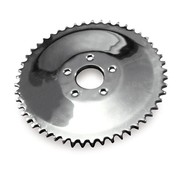 rear chain sprocket solid, 73-85 4-SP Bigtwin; 79-81 XL