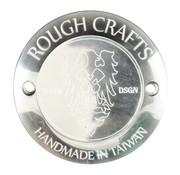 Rough Crafts Derby Deckel poliert - Bigtwins