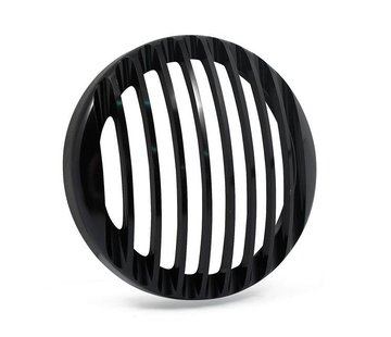 Rough Crafts koplamp grill zwart - 5,75 inch
