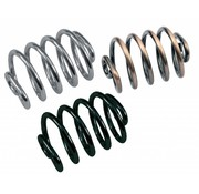 TC-Choppers Seat spring 3 inch high black, chrome or copper Fits: > universal