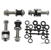 kit de piezas de acoplamiento, SissyBar lateral desmontable platos- Softail