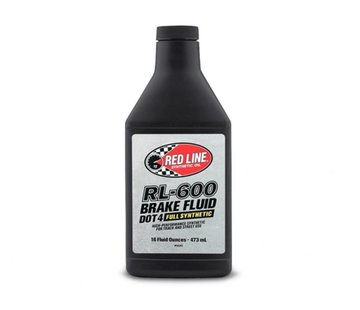 Red Line Synthetic oil Redline RL-600 Brake Fluid, 6/16 oz. (Each)