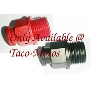 TC-Choppers Carburetor choke cable fitting aluminum Fits: > 90-06 Bigtwin, 88-06 XL with CV carburetor