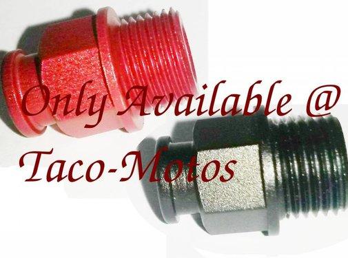 Taco-Motos Carburetor choke cable fitting aluminum