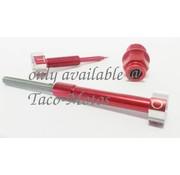 Réglage kit carburateur CV - anodisé rouge