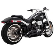 Vance & Hines Big Radius Black of chroom 2018-up - Softail-modellen