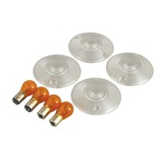 MCS turn signal Flat lens clear lens kit