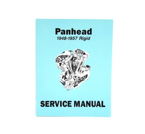 Wyatt Gatling Harley Davidson Factory Service Manual for 1948-1957 Panhead and Rigid