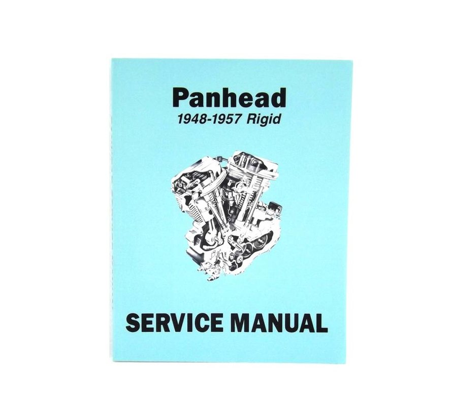 Harley Davidson Factory Service Manual for 1948-1957 Panhead and Rigid