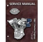 S&S Service-Handbücher T-Serie T124