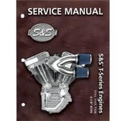 S&S service manuals T-Series T124