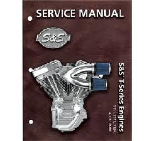 S&S Harley Davidson service manuals T-Series T124