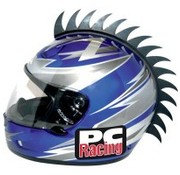 PC RACING casco de la hoja de sierra