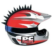 PC RACING casco Cuchillas Jagged