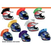 PC RACING helmet  Mohawks