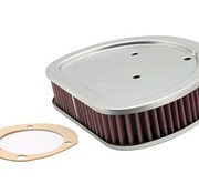 K&N High flow air filter 88 inch Twincam