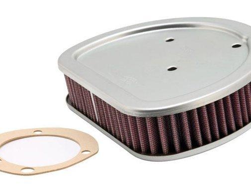 K&N High flow air filter 88 inch Twincam