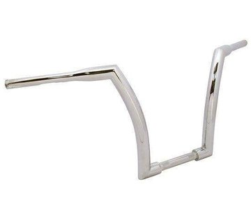 """V-Factor Handlebar with 16"""" Rise and 1.5 inch outside diameter - Chrome or black"""