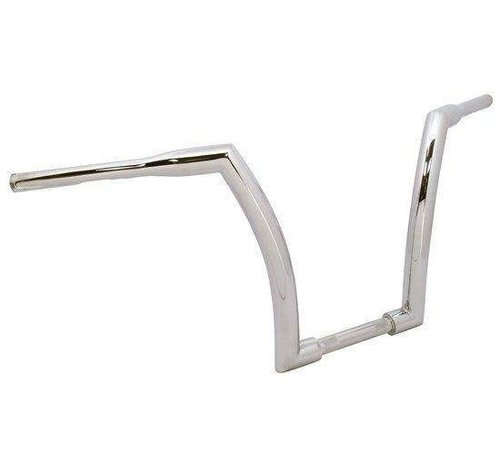 "V-Factor Handlebar with 16"" Rise and 1.5 inch outside diameter - Chrome or black - Copy"