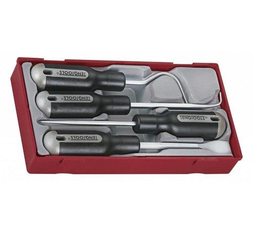 Teng Tools Gasket Scraper set Tc-tray 4pcs
