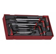 Teng Tools T-Inbusschlüsselsatz 7-teilig - US-Größen
