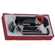 Teng Tools TTHT28 set voor sleutels en torx-sleutels
