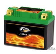 Zodiac incluye batería de litio - 48Wh, 240CCA -Se adapta a:> Sportster 2004 hasta el presente, VRSC V-Rod 2002-2006, 2006-2007 VRSCR Rod de la calle