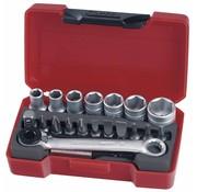 Teng Tools Teng Tools Doppenset 1/4 inch 5,5-13 mm 20 stuks - metrisch