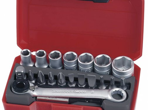 Teng Tools Teng Tools Socket set 1/4 inch 5.5-13mm 20 st - metrisch