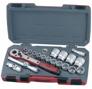 """Teng Tools T1220AF Socket Set 1/2 """"-aandrijving AF 20-delig - VS-formaat"""