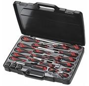 Teng Tools MD9053N 53-delige platte, PH & PZ-type schroevendraaier en bitset
