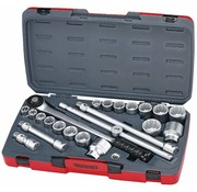 "Teng Tools 3/4"" Drive Socket Set- US and Metric sizes Fits: > Universal"
