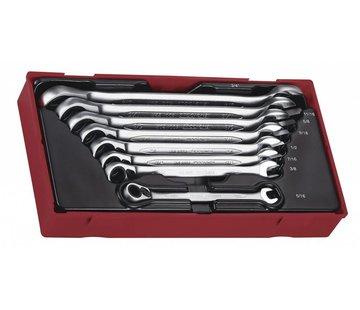 Teng Tools TT6508RAF Satz mit 8 Ratschenschlüsseln