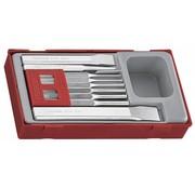Teng Tools TTPC09 Pinpons en beitelset Tc-tray 9st