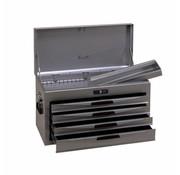 Teng Tools TC804NS Coffre à outils argenté 4 tiroirs