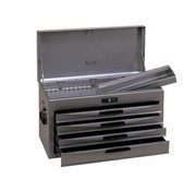 Teng Tools TC804NS Tool box silver 4 drawers